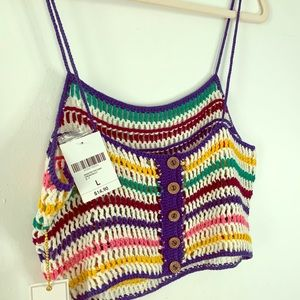 Forever 21 Crotchet Crop Top